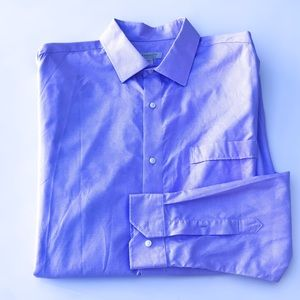 Barakett Purple & White Mini Check Dress Shirt 17